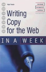 Writing Copy for the Web by Nigel Temple